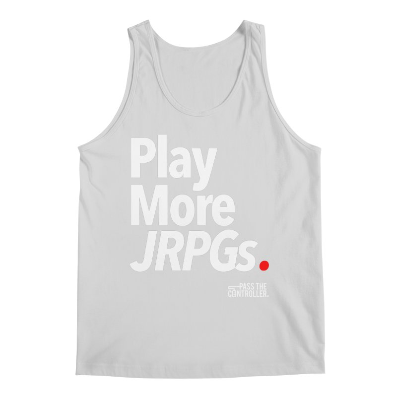 Play More JRPGs (Series 1) Men's Regular Tank by Official Pass The Controller Store