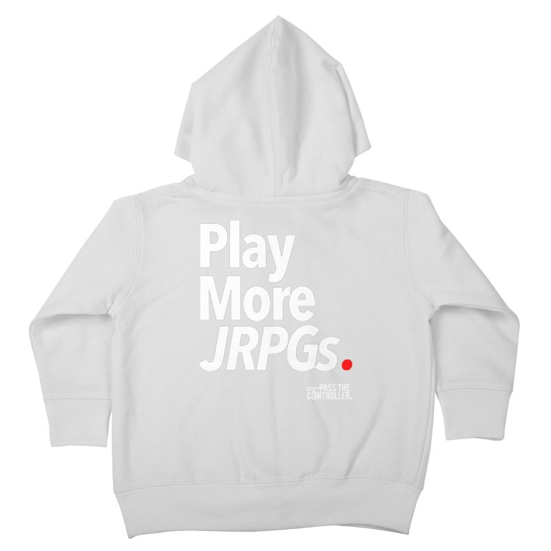 Play More JRPGs (Series 1) Kids Toddler Zip-Up Hoody by Official Pass The Controller Store