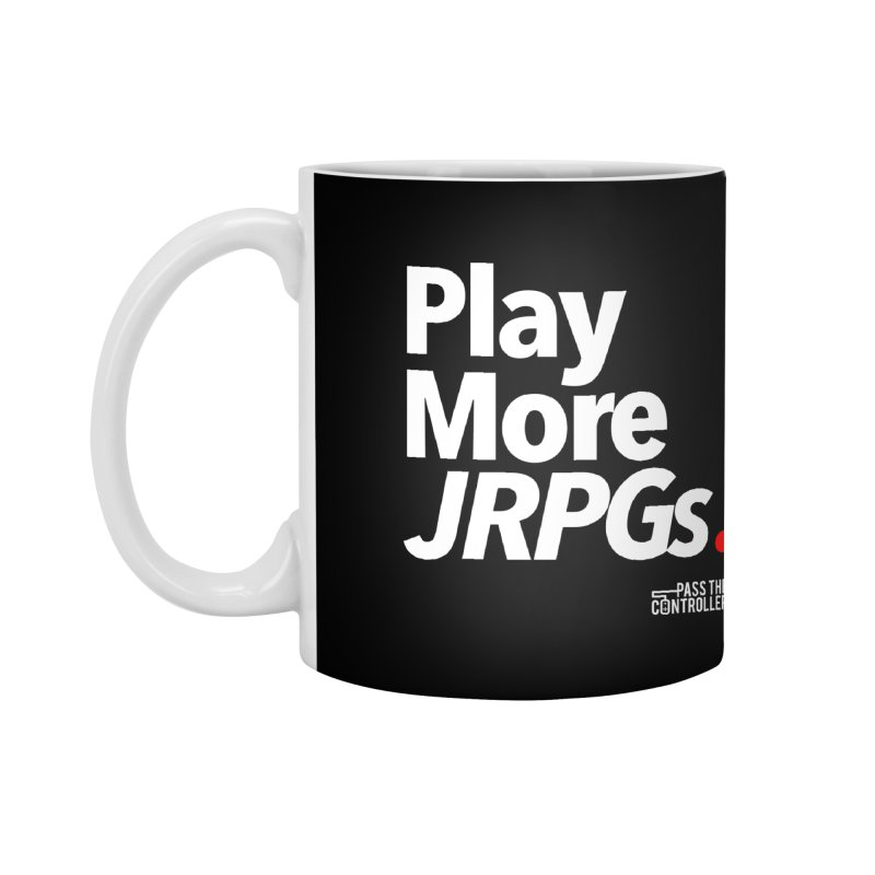 Play More JRPGs (Series 1) Accessories Mug by Official Pass The Controller Store