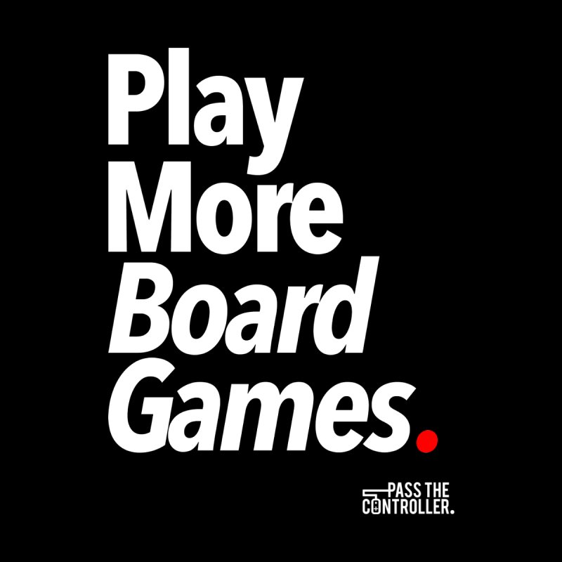 Play More Board Games (Series 1) Women's V-Neck by Official Pass The Controller Store