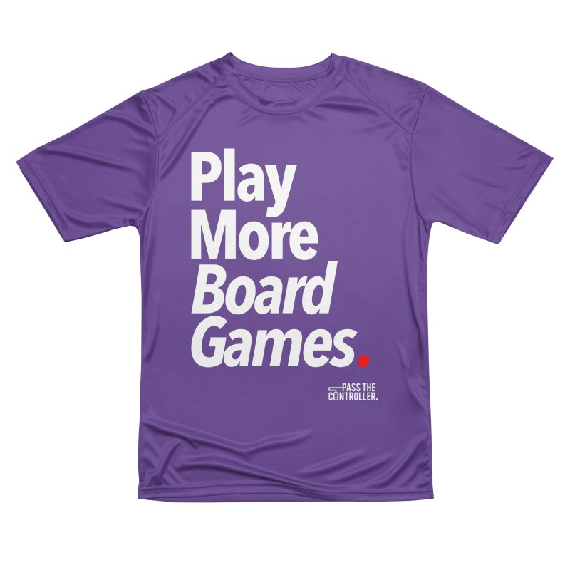 Play More Board Games (Series 1) Men's Performance T-Shirt by Official Pass The Controller Store