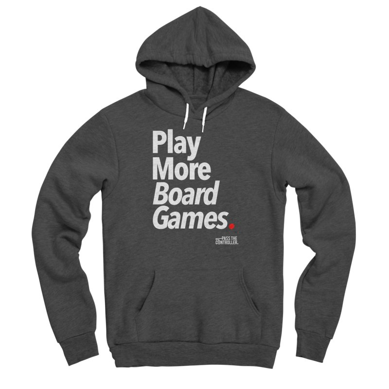 Play More Board Games (Series 1) Men's Pullover Hoody by Official Pass The Controller Store