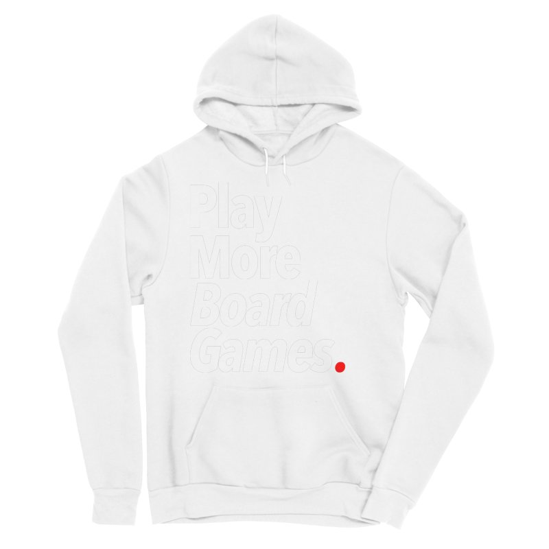 Play More Board Games (Series 1) Women's Sponge Fleece Pullover Hoody by Official Pass The Controller Store