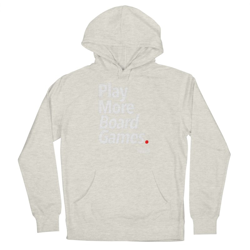 Play More Board Games (Series 1) Women's French Terry Pullover Hoody by Official Pass The Controller Store
