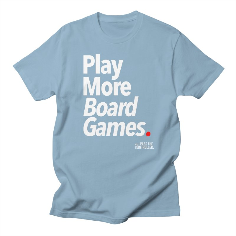 Play More Board Games (Series 1) Men's Regular T-Shirt by Official Pass The Controller Store