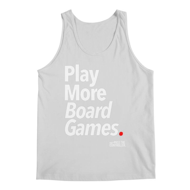 Play More Board Games (Series 1) Men's Regular Tank by Official Pass The Controller Store