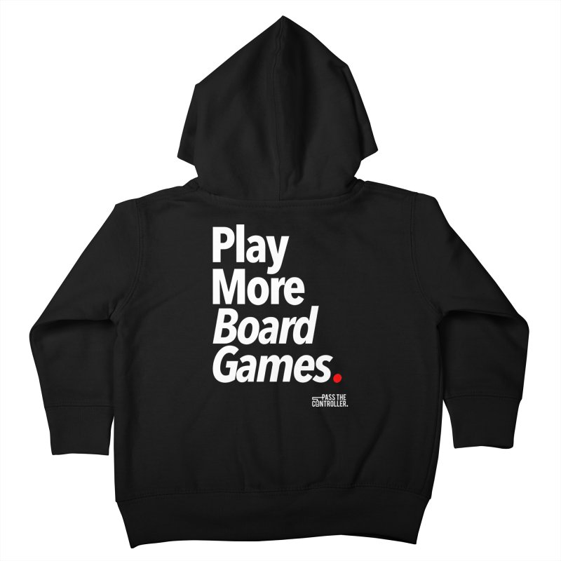 Play More Board Games (Series 1) Kids Toddler Zip-Up Hoody by Official Pass The Controller Store
