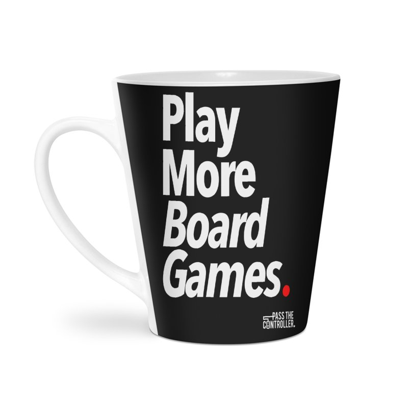 Play More Board Games (Series 1) Accessories Latte Mug by Official Pass The Controller Store