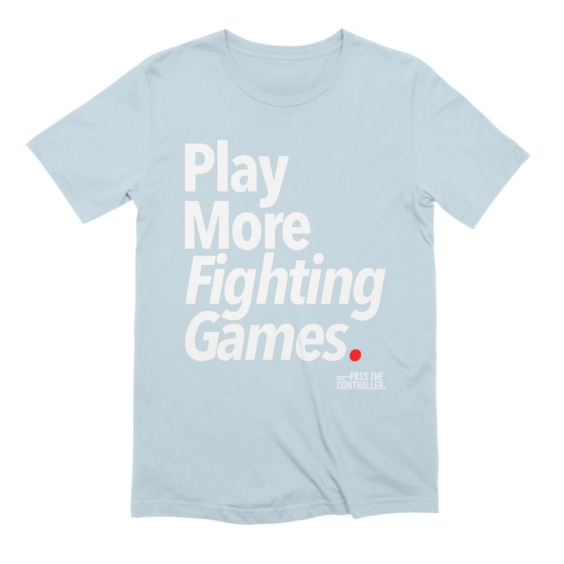 Play More Fighting Games (Series 1) Men's T-Shirt by Official Pass The Controller Store