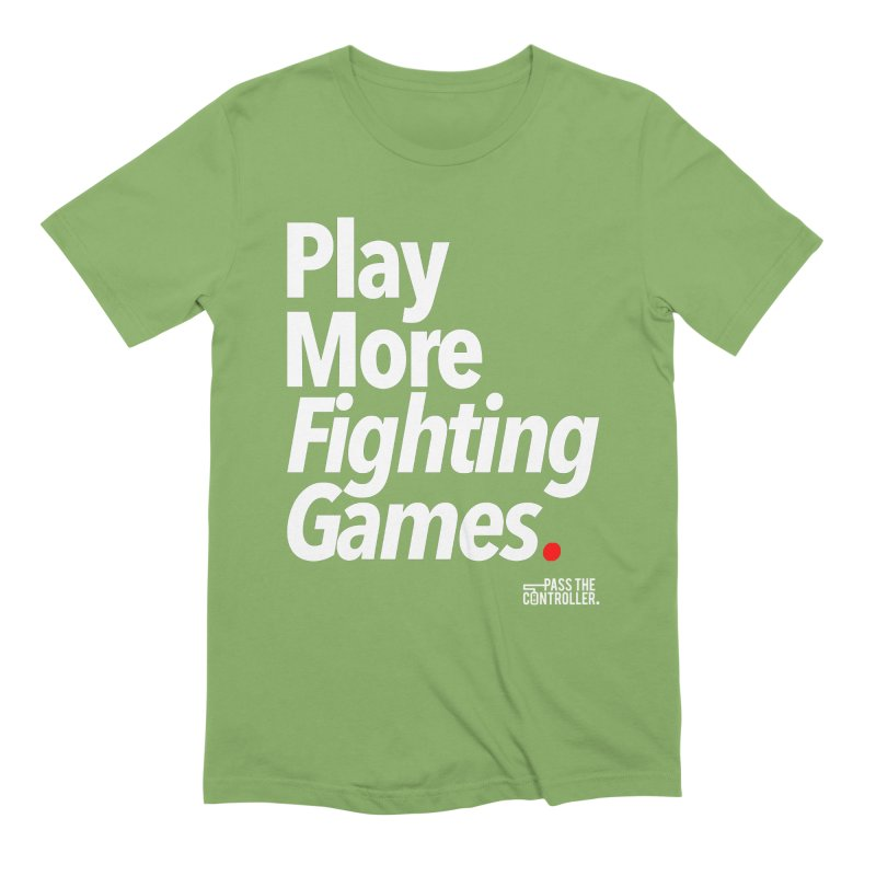 Play More Fighting Games (Series 1) Men's Extra Soft T-Shirt by Official Pass The Controller Store