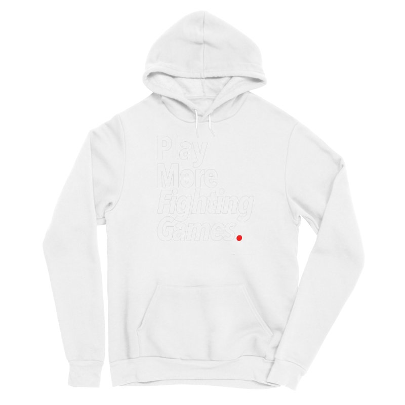 Play More Fighting Games (Series 1) Men's Sponge Fleece Pullover Hoody by Official Pass The Controller Store