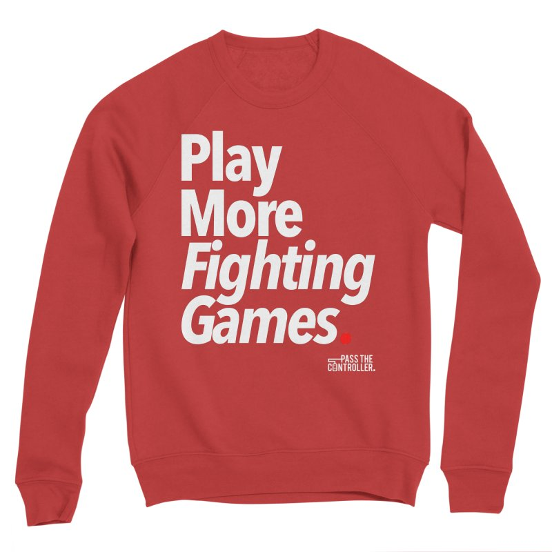 Play More Fighting Games (Series 1) Women's Sponge Fleece Sweatshirt by Official Pass The Controller Store