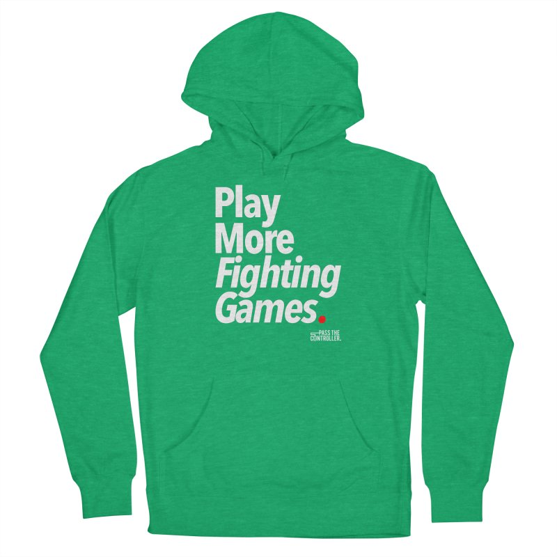 Play More Fighting Games (Series 1) Women's French Terry Pullover Hoody by Official Pass The Controller Store