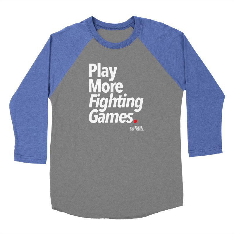 Play More Fighting Games (Series 1) Women's Longsleeve T-Shirt by Official Pass The Controller Store