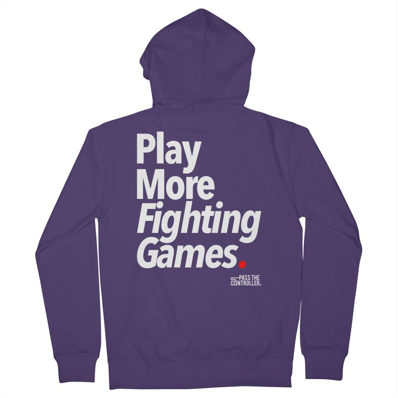 Play More Fighting Games (Series 1) Women's Zip-Up Hoody by Official Pass The Controller Store
