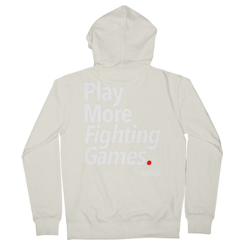 Play More Fighting Games (Series 1) Women's French Terry Zip-Up Hoody by Official Pass The Controller Store