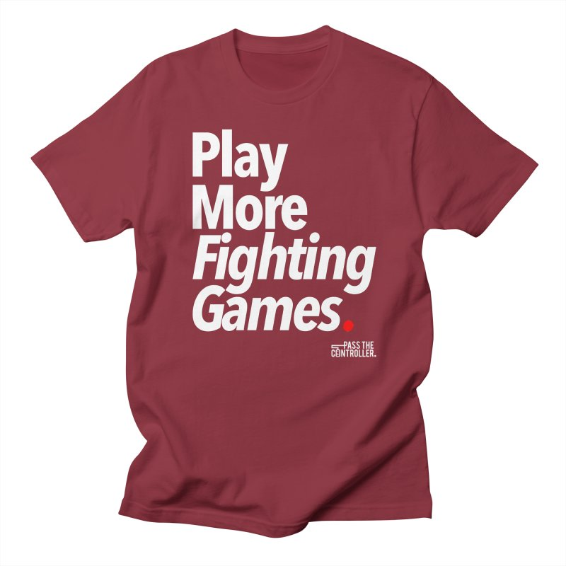 Play More Fighting Games (Series 1) Men's Regular T-Shirt by Official Pass The Controller Store