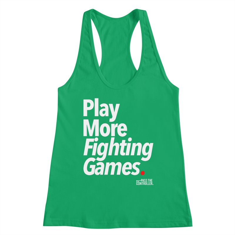 Play More Fighting Games (Series 1) Women's Tank by Official Pass The Controller Store