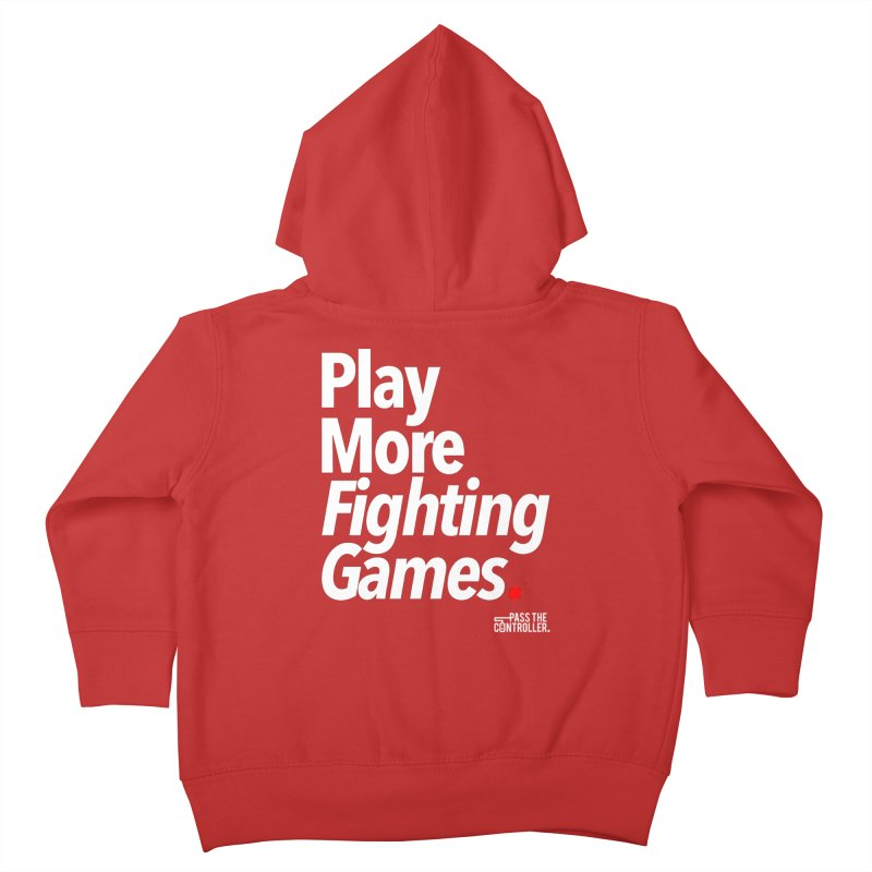 Play More Fighting Games (Series 1) Kids Toddler Zip-Up Hoody by Official Pass The Controller Store