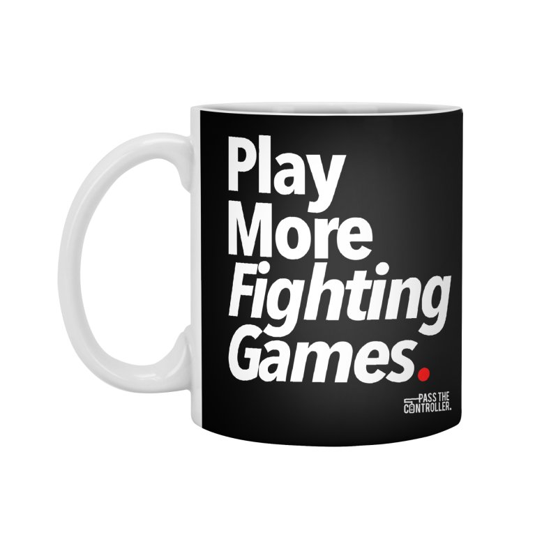 Play More Fighting Games (Series 1) Accessories Mug by Official Pass The Controller Store