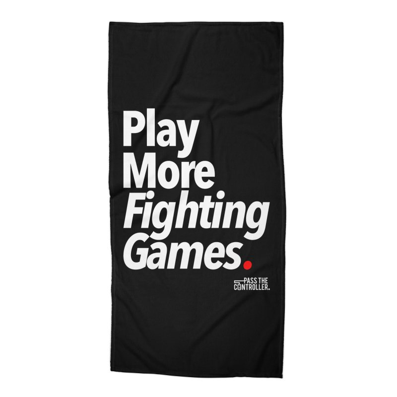 Play More Fighting Games (Series 1) Accessories Beach Towel by Official Pass The Controller Store