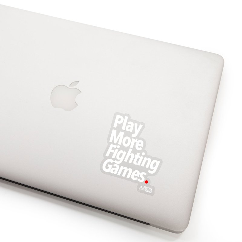 Play More Fighting Games (Series 1) Accessories Sticker by Official Pass The Controller Store
