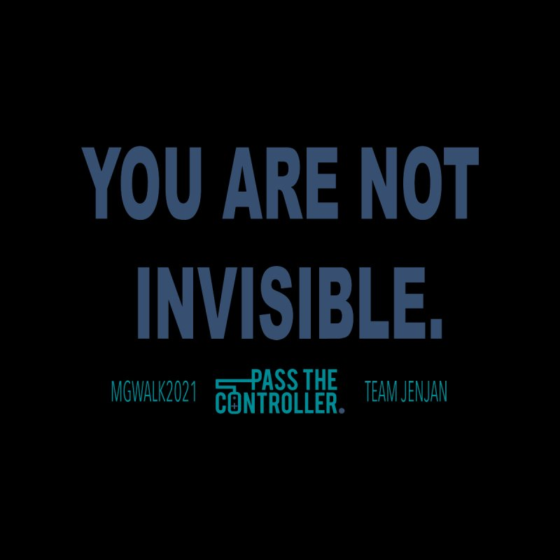 You Are Not Invisible - 2021 Kids Longsleeve T-Shirt by Official Pass The Controller Store