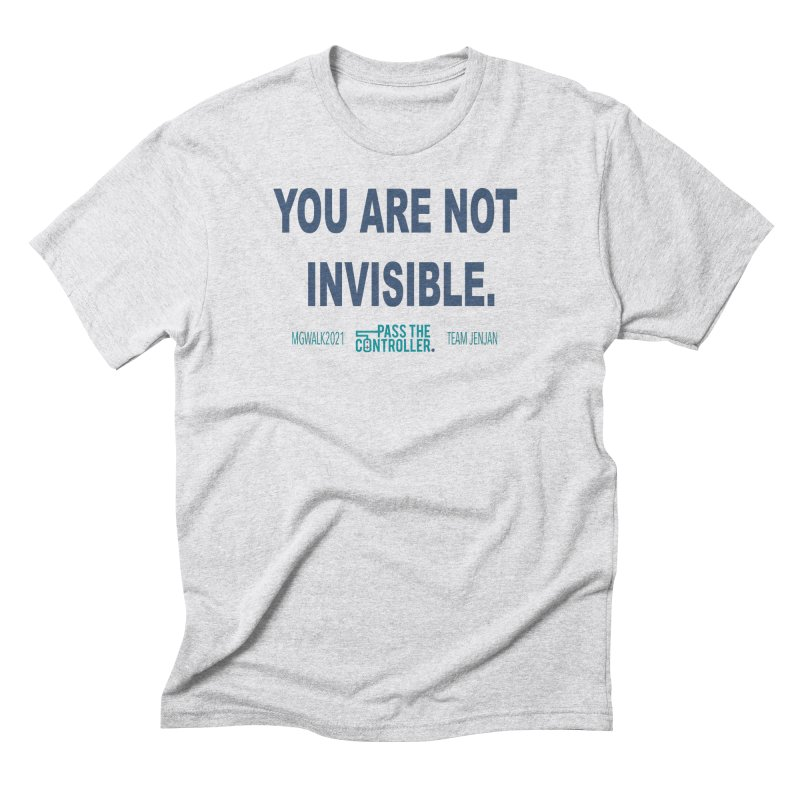 You Are Not Invisible - 2021 Men's T-Shirt by Official Pass The Controller Store