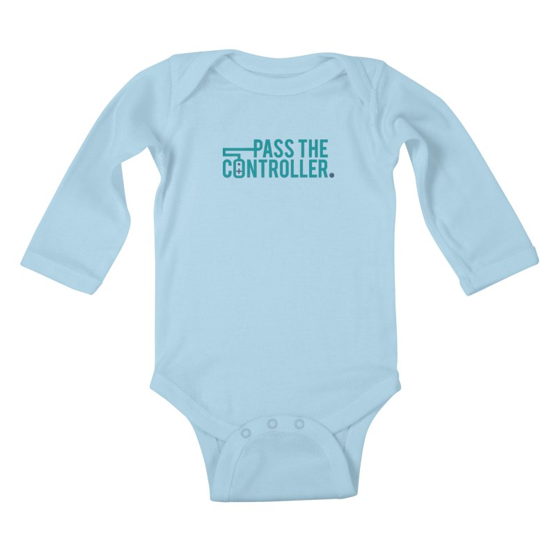 Pass The Controller - MG 2021 Kids Baby Longsleeve Bodysuit by Official Pass The Controller Store