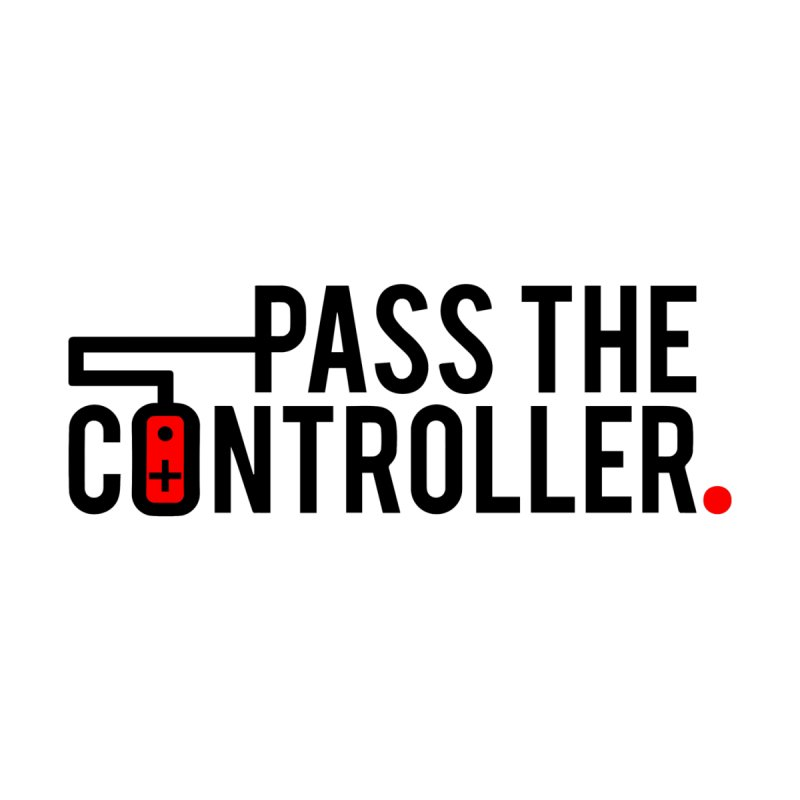 Pass The Controller Logo Men's Pullover Hoody by Official Pass The Controller Store