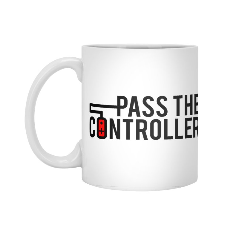 Pass The Controller Logo Accessories Standard Mug by Official Pass The Controller Store