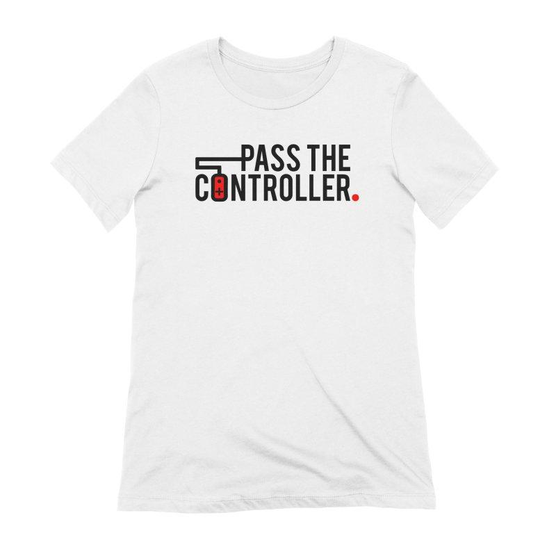 Pass The Controller Logo Women's T-Shirt by Official Pass The Controller Store