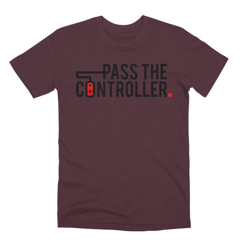 Pass The Controller Logo Men's T-Shirt by Official Pass The Controller Store