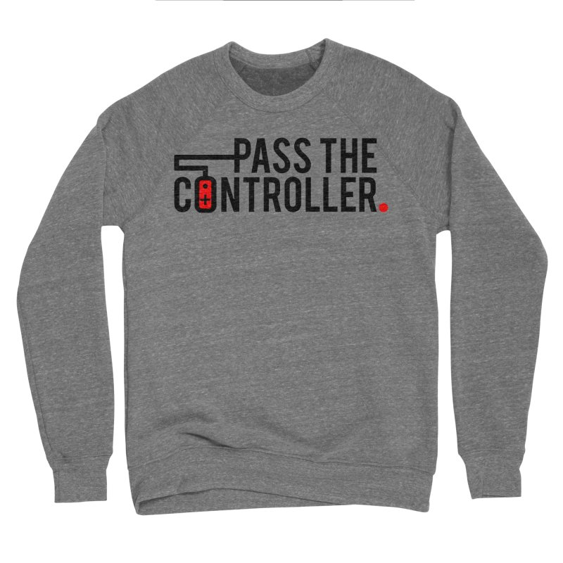 Pass The Controller Logo Men's Sweatshirt by Official Pass The Controller Store
