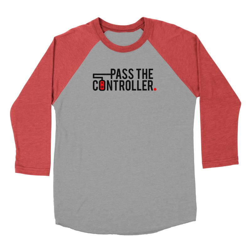 Pass The Controller Logo Men's Longsleeve T-Shirt by Official Pass The Controller Store