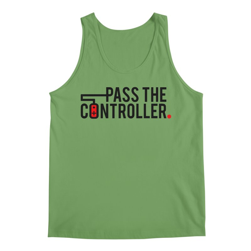 Pass The Controller Logo Men's Tank by Official Pass The Controller Store