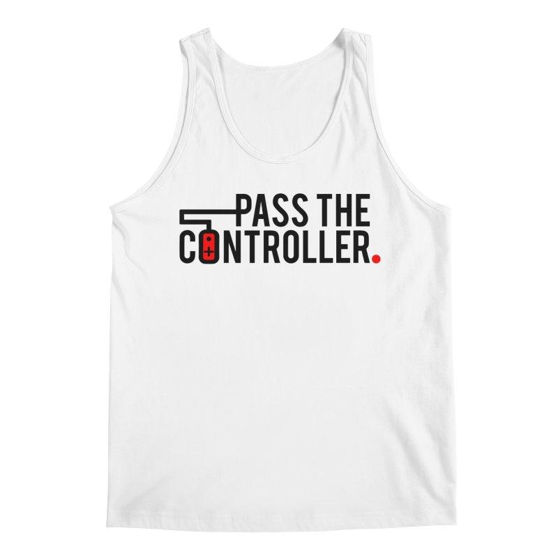 Pass The Controller Logo Men's Regular Tank by Official Pass The Controller Store