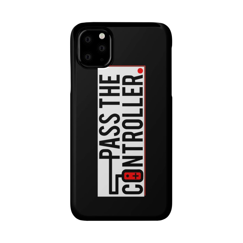 Pass The Controller Logo Pop Accessories Phone Case by Official Pass The Controller Store