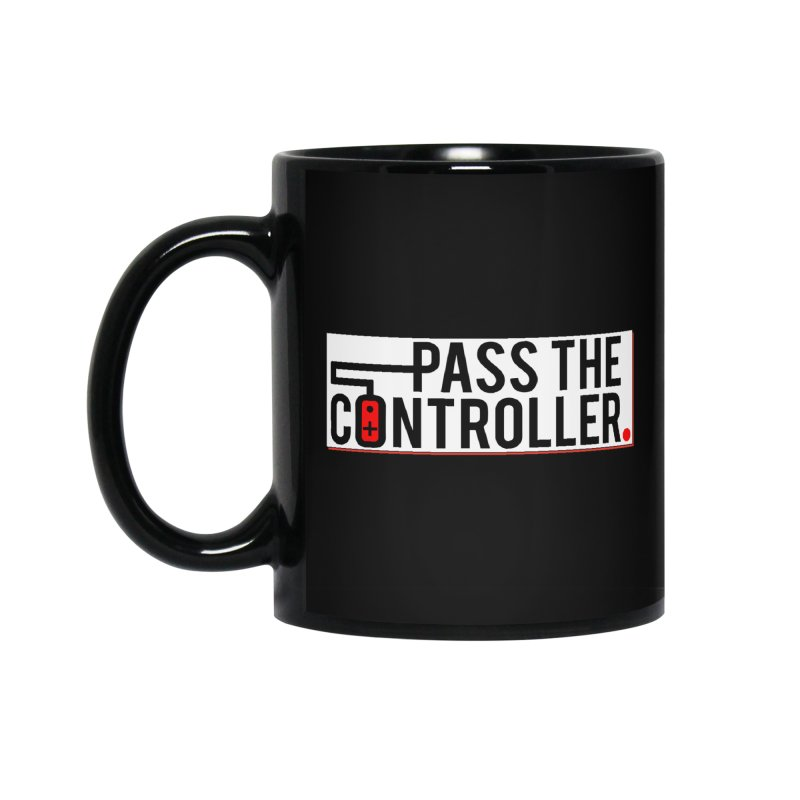 Pass The Controller Logo Pop Accessories Standard Mug by Official Pass The Controller Store