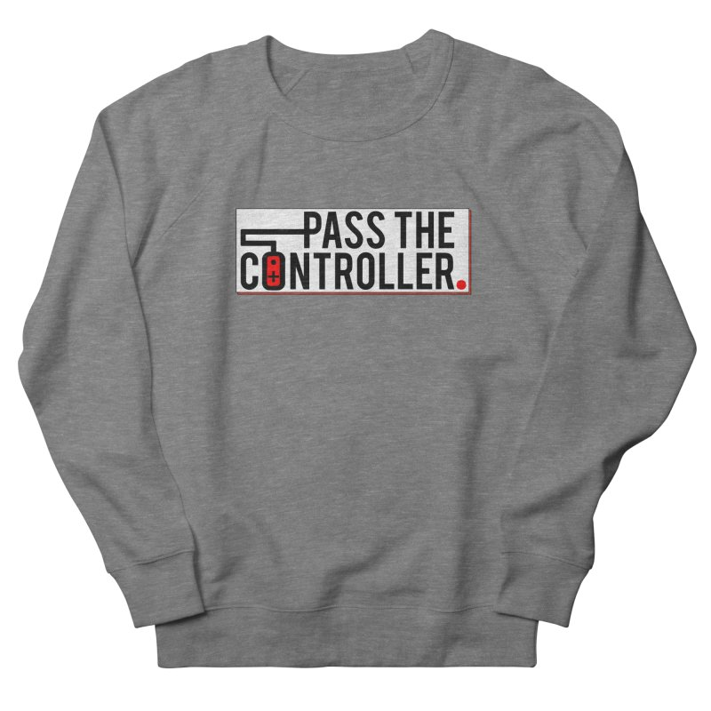 Pass The Controller Logo Pop Women's Sweatshirt by Official Pass The Controller Store