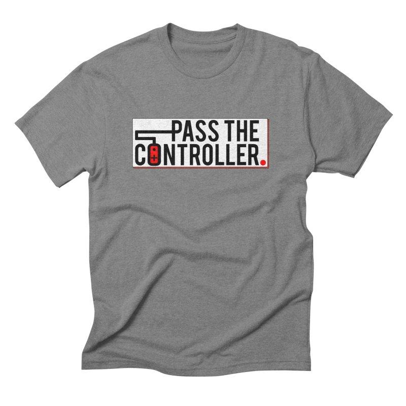 Pass The Controller Logo Pop Men's T-Shirt by Official Pass The Controller Store