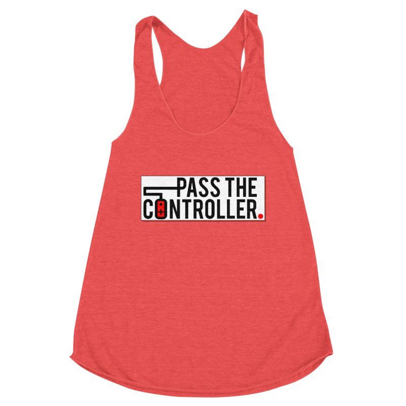 Pass The Controller Logo Pop Women's Tank by Official Pass The Controller Store