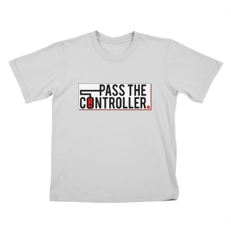 Pass The Controller Logo Pop Kids T-Shirt by Official Pass The Controller Store