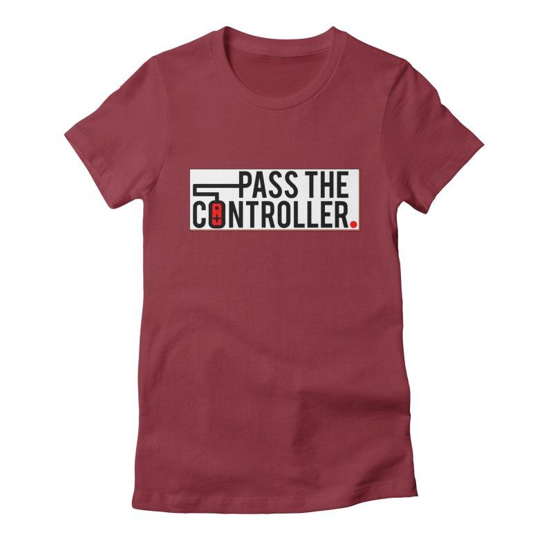 Pass The Controller Logo Pop Women's T-Shirt by Official Pass The Controller Store