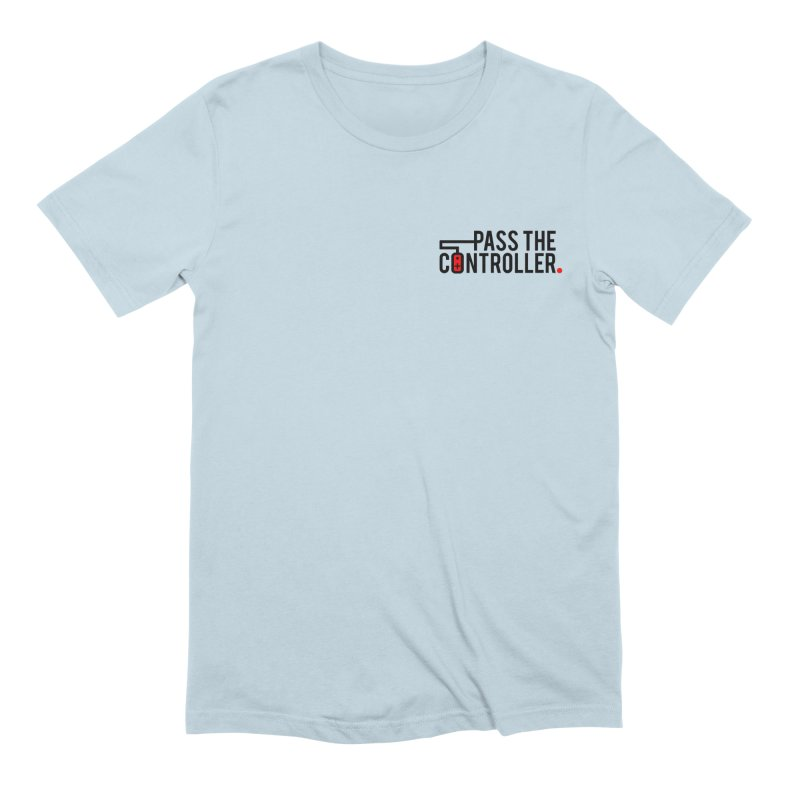 Classic Corner Logo Men's T-Shirt by Official Pass The Controller Store