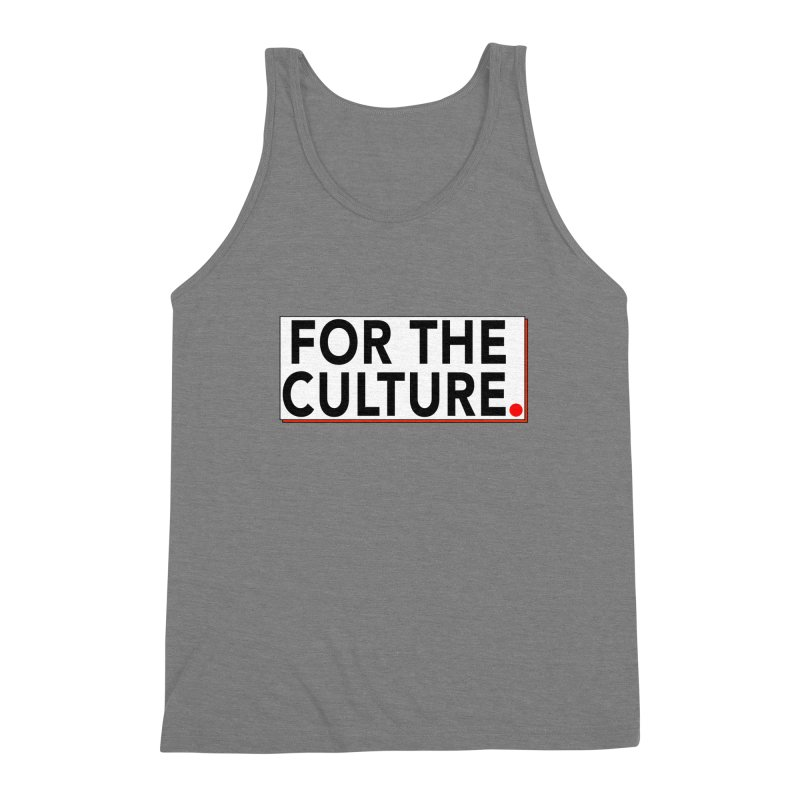 For The Culture (Popped) Men's Tank by Official Pass The Controller Store