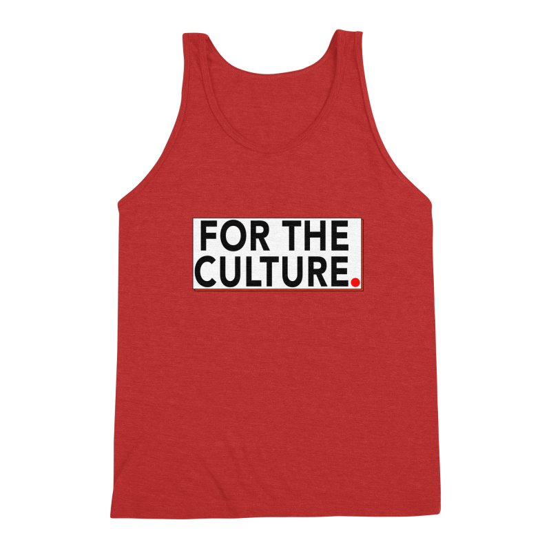 For The Culture (Popped) Men's Triblend Tank by Official Pass The Controller Store