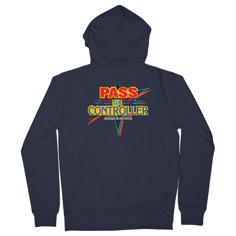 Take You For A Ride Men's French Terry Zip-Up Hoody by Official Pass The Controller Store