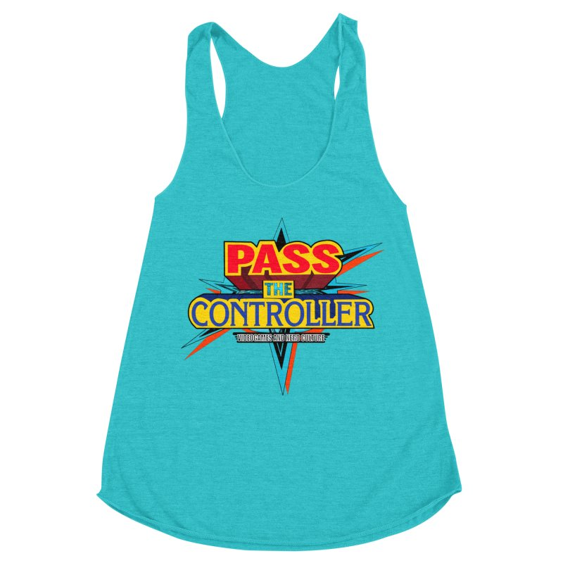 Take You For A Ride Women's Racerback Triblend Tank by Official Pass The Controller Store