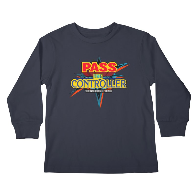 Take You For A Ride Kids Longsleeve T-Shirt by Official Pass The Controller Store